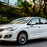 Consumo Citroen C4 Lounge Origine 1.6 Turbo 2017 - Frente