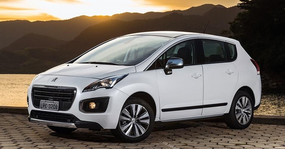 Consumo Peugeot 3008 Griffe 2016 - Lateral