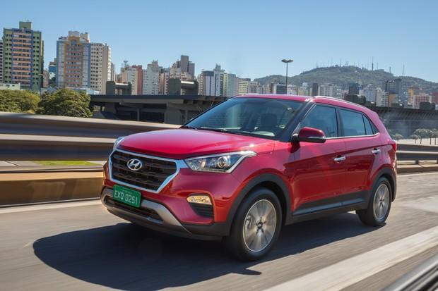 Consumo Hyundai Creta Pulse 1.6 AT 2017 - Frente