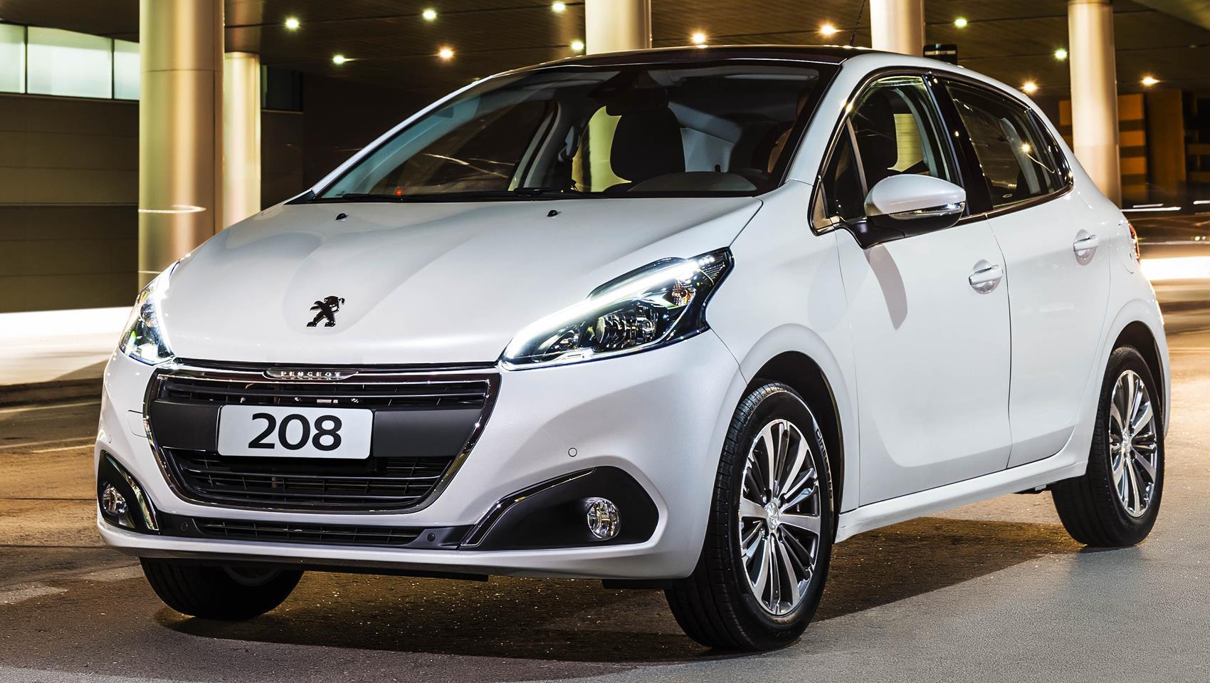 Consumo Peugeot 208 Allure 1.2 2017 - Frente