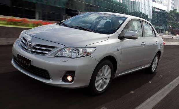 Consumo Corolla XLi 1.8 AT 2014 - Frente