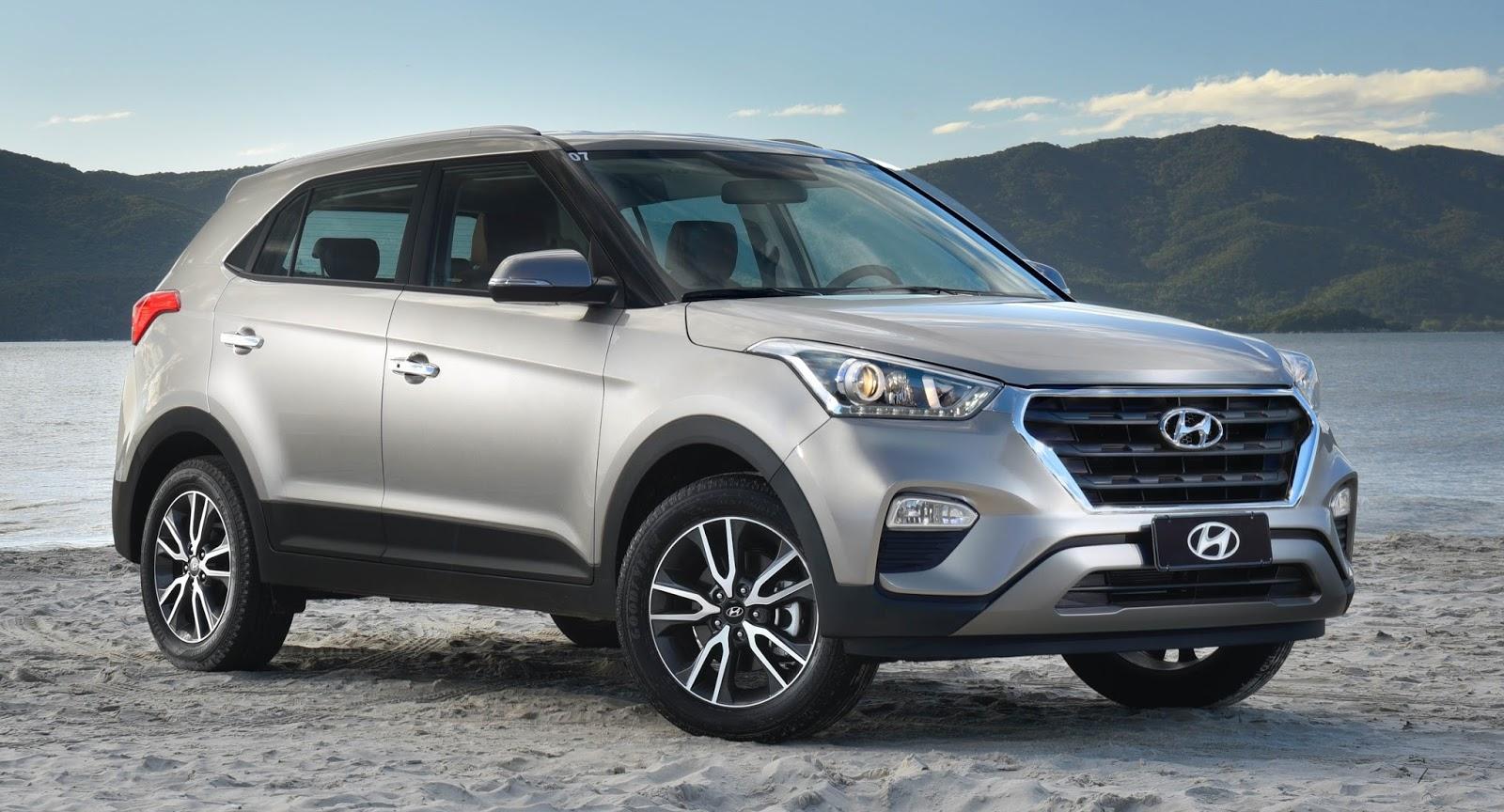 Consumo Hyundai Creta Attitude 1.6 - Frente