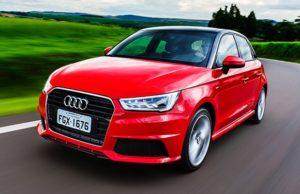 Consumo Audi A1 Sportback Ambition 1.8 TFSi 2016 - Frente
