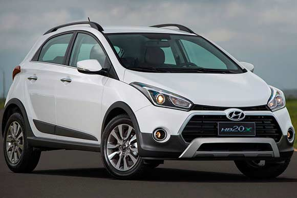 Consumo Hyundai HB20X Premium 1.6 AT 2017 - 3