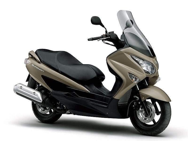 Consumo Suzuki Burgman 125i 2020 3